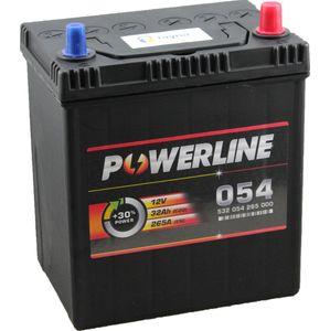 054 Powerline Car Battery 12V
