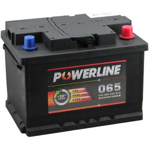 065 Powerline Car Battery 12V