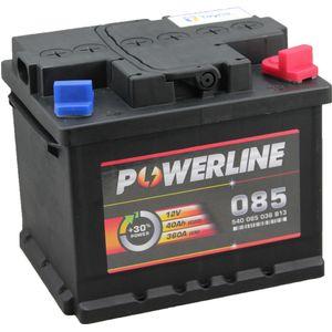 085 Powerline Car Battery 12V
