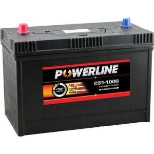 C31-1000 Powerline Car Battery 12V 120Ah