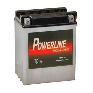 YB14L-B2 Powerline Batterie De Moto 12V 13Ah YB14LB2