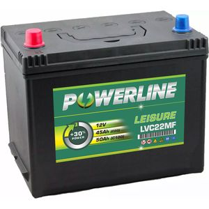 LVC22MF Powerline Leisure Battery 12V