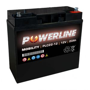 PLC22-12 Powerline Mobility Battery 12V 20Ah