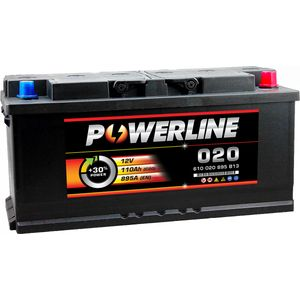 020 Powerline Car Battery 12V 110Ah
