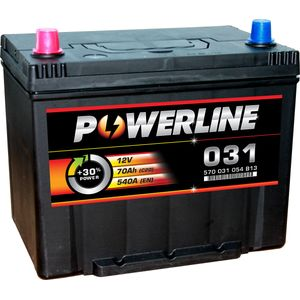 031 Powerline Car Battery 12V