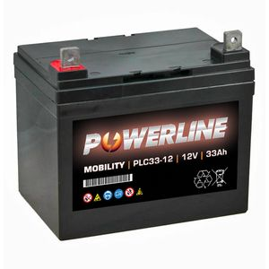 PLC33-12 Powerline Mobility Battery 12V 33Ah