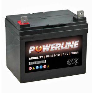 PLC33-12 Powerline Mobility Battery 12V 33Ah