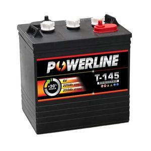 T145 Powerline Battery Deep Cycle 225Ah