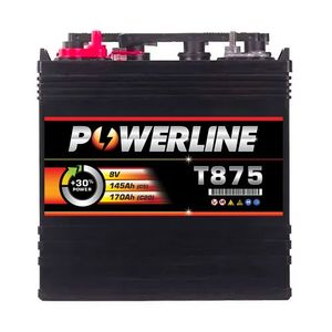 T875 Powerline Battery Deep Cycle 170Ah