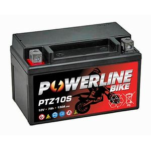 PTZ10S Powerline Batterie De Moto 12V
