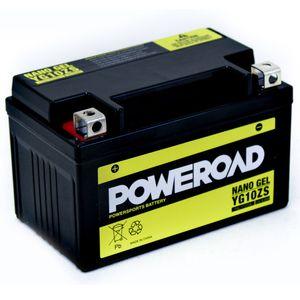 YG10ZS GEL Poweroad Motorcycle Battery