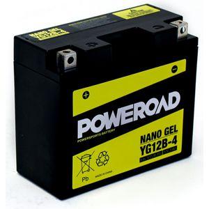 YG12B-4 GEL Poweroad Motorcycle Battery