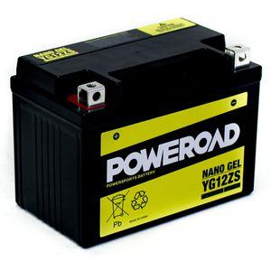 YG12ZS GEL Poweroad Motorcycle Battery