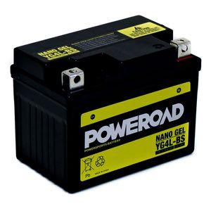 YG4L-BS GEL Poweroad Motorcycle Battery