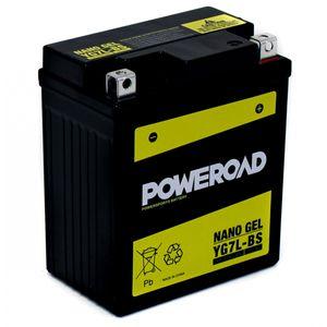 YG7L-BS GEL Poweroad Motorcycle Battery
