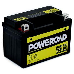 YG9-BS GEL Poweroad Motorcycle Battery