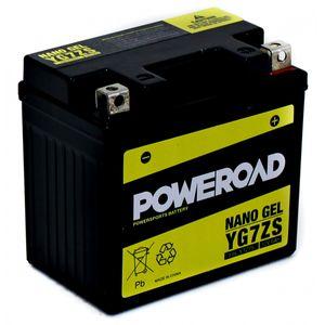 YG7ZS GEL Poweroad Motorcycle Battery