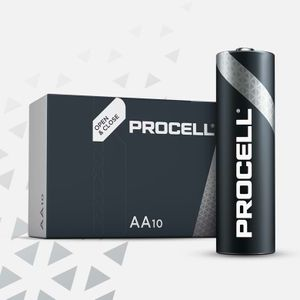 10x Duracell Procell General Purpose AA Batteries