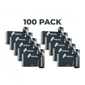 100x Duracell Procell General Purpose AA Batteries