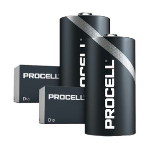 20x Duracell Procell General Purpose D Batteries