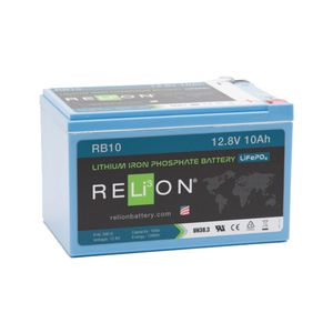 Relion RB10 Lithium Battery 12V 10Ah
