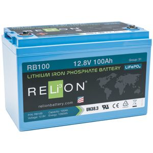 Relion RB100 Lithium Battery 12V 100Ah
