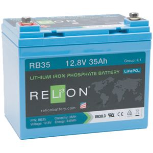 Relion RB35 Lithium Battery 12V 35Ah