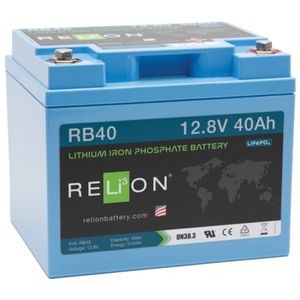 Relion RB40 Lithium Battery 12V 40Ah