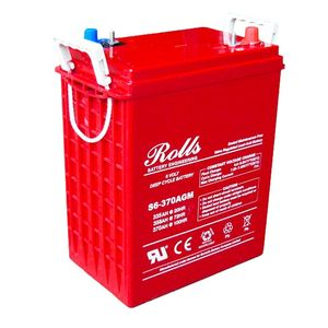 Rolls S6-370AGM Deep Cycle Series 6 Volt Battery