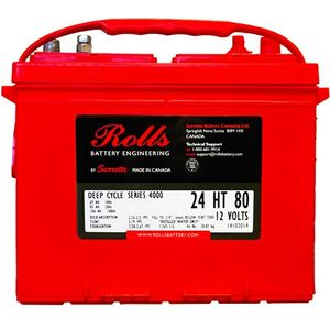 Rolls S105 Series 4000 12Volt Battery (S12 24)