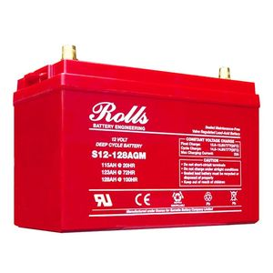 Rolls S12-128AGM Deep Cycle Series 12 Volt Battery