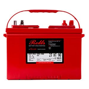 Rolls S140 Series 4000 12Volt Battery (S12 27)