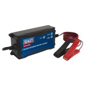 Sealey Fully Automatic 12V 4A Battery Charger SBC4