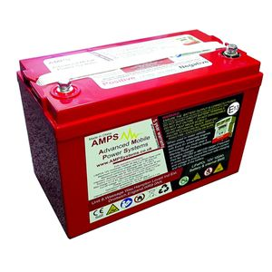 Sterling Power AMPS 12V 100Ah LiFePO4 Lithium Leisure Battery