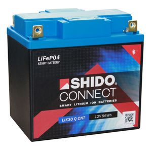 SHIDO Connect Lithium Motorcycle Battery LIX30 Q CNT