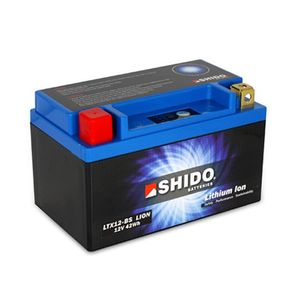 YTX12-BS Shido Batterie De Moto Lithium LiFePO4 LTX12-BS