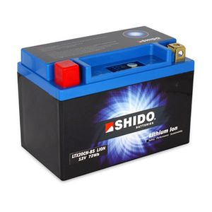 YTX20CH-BS Shido Lithium Motorcycle Battery LiFePO4 LTX20CH-BS