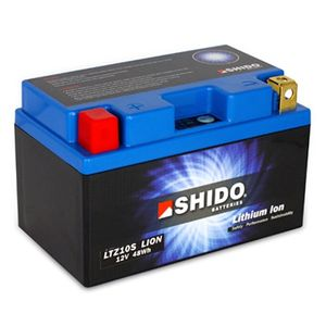 YTZ10S Shido Lithium Motorcycle Battery LiFePO4 LTZ10S