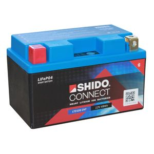 YTZ10S SHIDO Connect Lithium Motorcycle Battery LTZ10S CNT