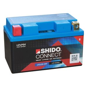 YTZ12S SHIDO Connect Lithium Motorcycle Battery LTZ12S CNT
