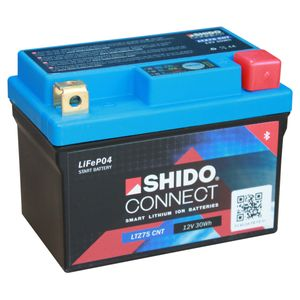 YTZ7S SHIDO Connect Lithium Motorcycle Battery LTZ7S CNT