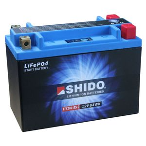YTX20L-BS Shido Lithium Motorcycle Battery LiFePO4 LTX20L-BS Q