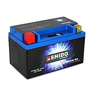 YT12A-BS Shido Lithium Motorcycle Battery LiFePO4 LT12A-BS
