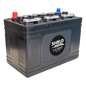 Type 241 Classic Car Hard Rubber Battery 12V 70Ah