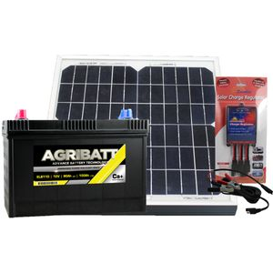 Electric Fence Solar Battery Kit ELB110 12V 100Ah c100