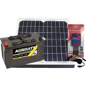 Electric Fence Solar Battery Kit ELB120 12V 106Ah c100