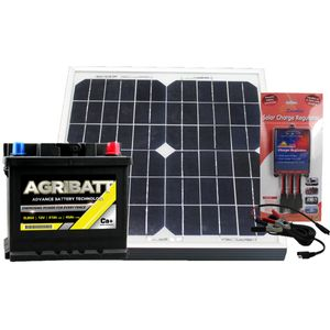 Electric Fence Solar Battery Kit ELB50 12V 50Ah c100