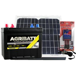 Electric Fence Solar Battery Kit ELB80 12V 60Ah