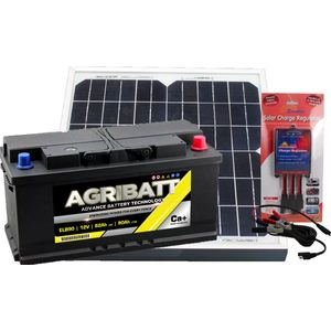 Electric Fence Solar Battery Kit ELB90 12V 85Ah (C100)
