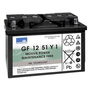 GF12051Y1 Sonnenschein Battery (GF1251Y1 / GF 12 51 Y1)